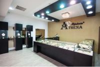 decor cu tapet-bijuteria Athena  Lotus Center